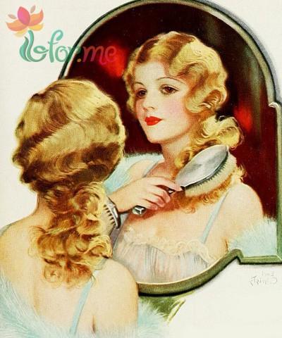 Расчесывание активизирует фолликулы волос