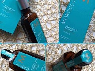 Масло Moroccanoil очень благотворно воздействует на волосы