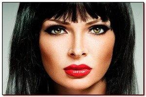 Какой макияж наносится под красную помаду