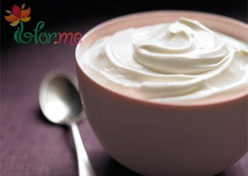 yogurt facial