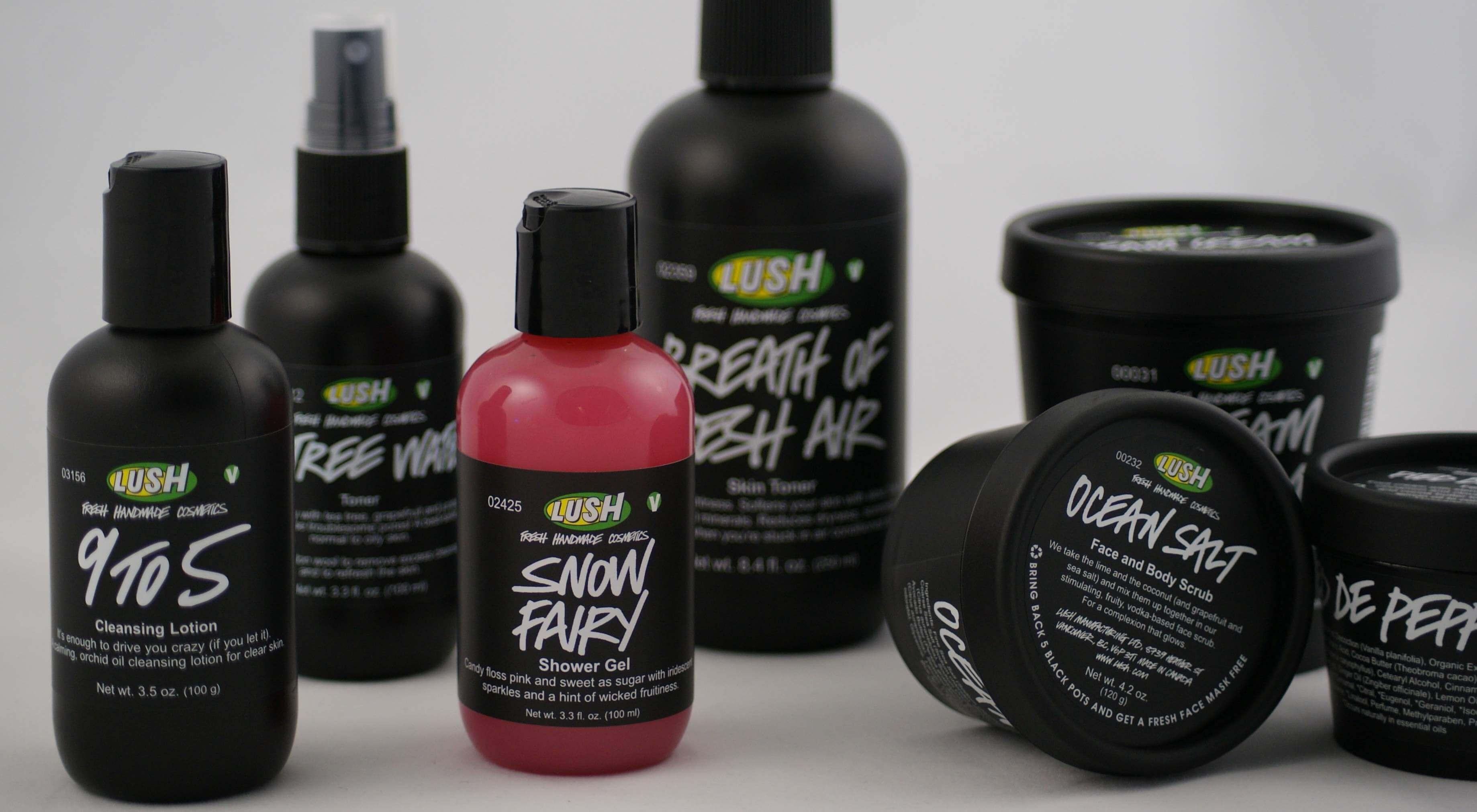 Компания Lush