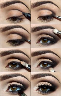 Фото 5 - Дневной макияж наносится по определенной схеме