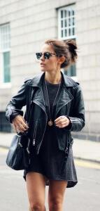 За кожаными куртками нужно правильно ухаживать