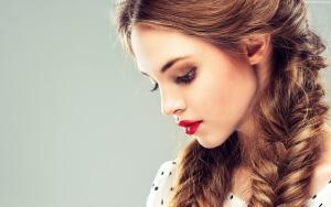 Колоски на короткие волосы