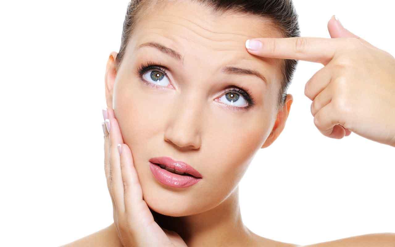 Как убрать мимические морщины на лице в домашних условиях