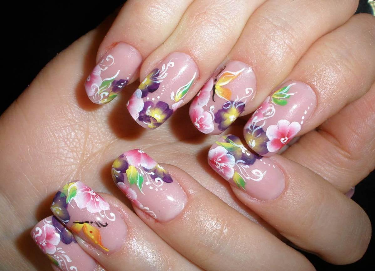 Фото самого красивого рисунка на ногтях