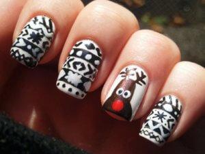 Прикольные рисунки на ногтях