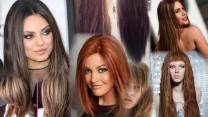 объемные стрижки на длинные волосы