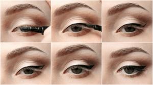 Как пользоваться подводкой для глаз