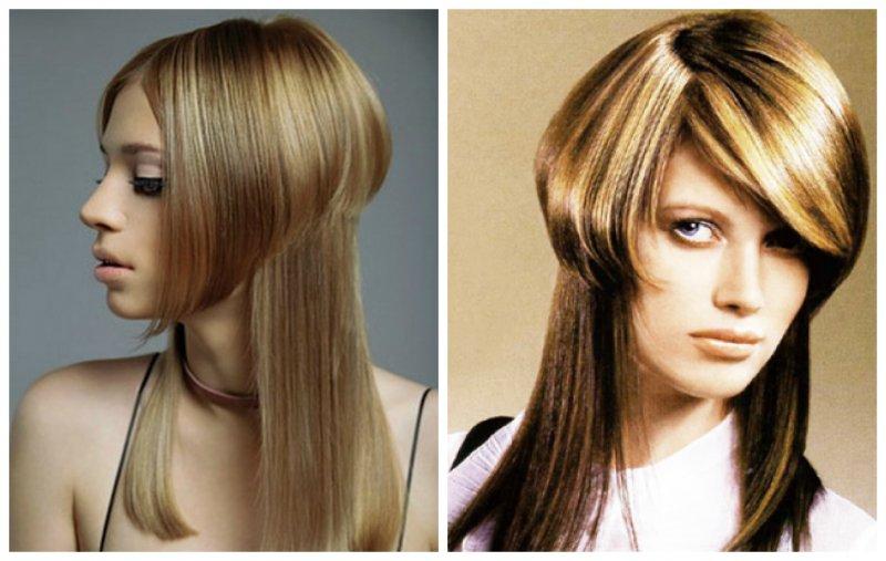 Стрижка шапочка на длинных волосах с плавным переходом