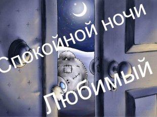пожелания спокойной ночи любимому мужчине