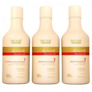 Кератиновое выпрямление волос Inoar G-Hair