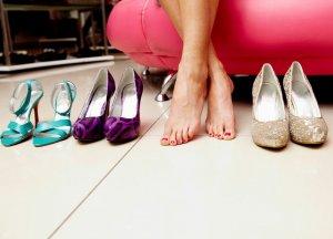 увеличение размера туфель в домашних условиях