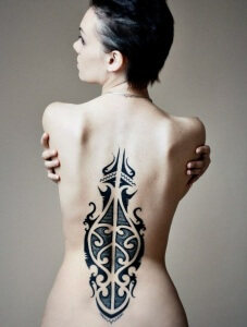Татуировка может сделать ваш образ незабываемым
