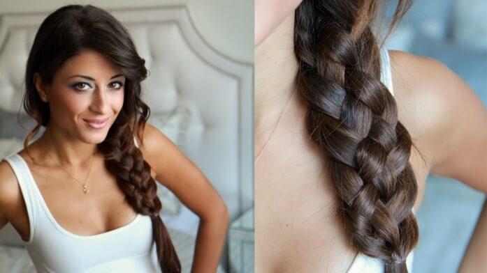 Фото 1 - Существует пять основных типов кос