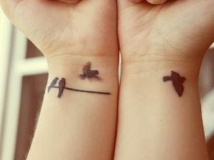 Татуировка на запястье