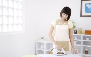 как очистить утюг от пригара