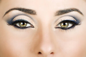 Макияж для зеленых глаз