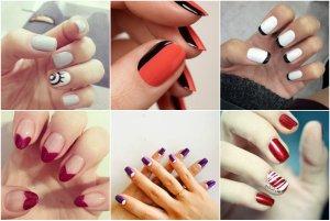 самые простые рисунки на ногтях