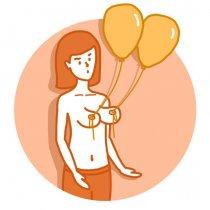 Отвисшая грудь — почему изменилась форма и как бороться с проблемой девушкам и женщинам разных возрастов?