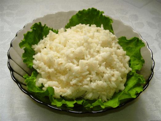 Приготовление диетического риса