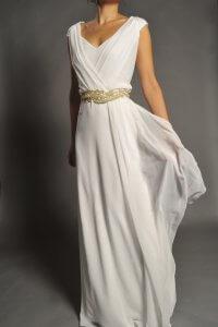 фасоны платьев, в которых девушки похожи на древних гречанок