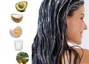 питательная маска для волос в домашних условиях