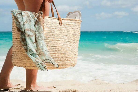 Сумка на пляж
