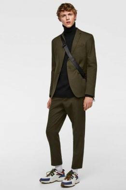 Укороченные мужские брюки