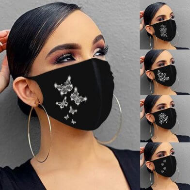 Мода на защитные маски