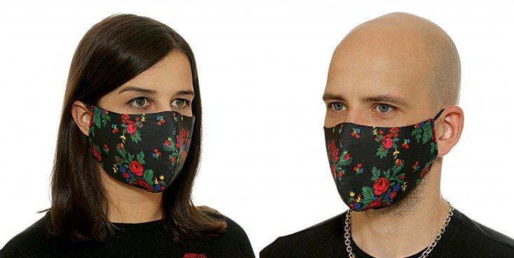 Модные защитные маски