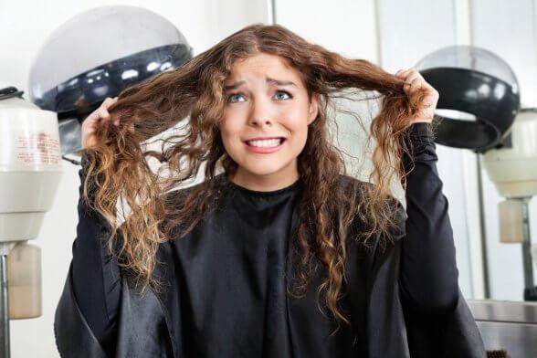 Как распутать кудрявые волосы