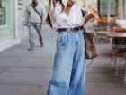 Широкие джинсы снова в моде